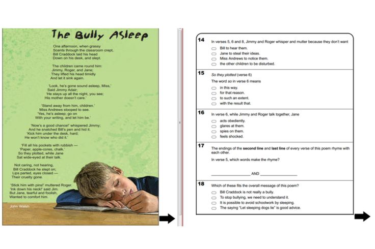 Year 5 NAPALN Reading practice questions for IWB http://interactivelessons.com.au/