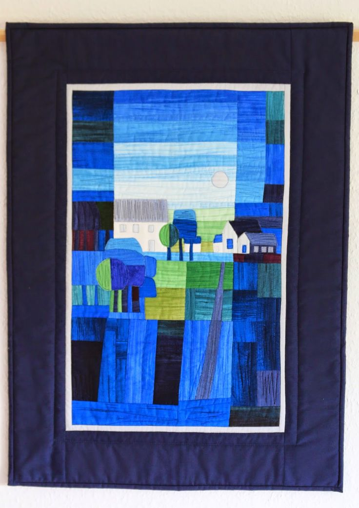 Quilt inspired by Ton Schulten, posted at Quilt Around (Germany)