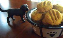 Homemade gluten-free and grain-free dog treats image by Teri Gruss