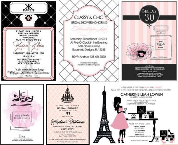Source: Lucia Paul Design/West Park Photo via HWTM I have been super excited to share a Parisian Chanel-themed hen party with my readers! I think this makes an absolutely gorgeous, glamorous (and t…
