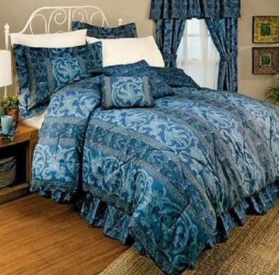 Gabriella Scrolled Elegance Comforter Set Queen Size ~Free USA Shipping~ NEWElegant Comforters, Sets Queens, Queens Size, Comforters Sets