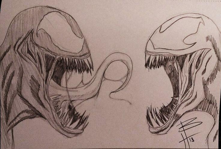 Spiderman vs carnage drawings - photo#3