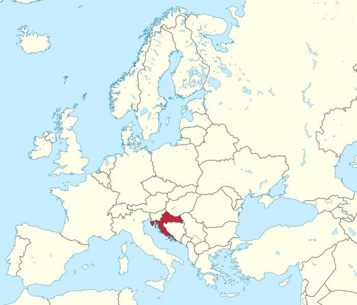 Where Is Slovenia On A Map Of Europe.Time For The World To Know Where Croatia Is On The Map Croatia