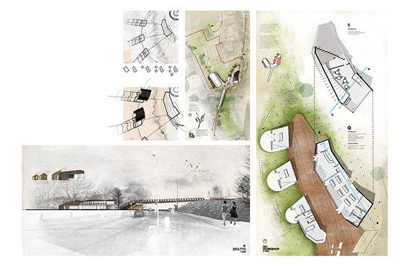 Third year Architecture project from the University of Lincoln.