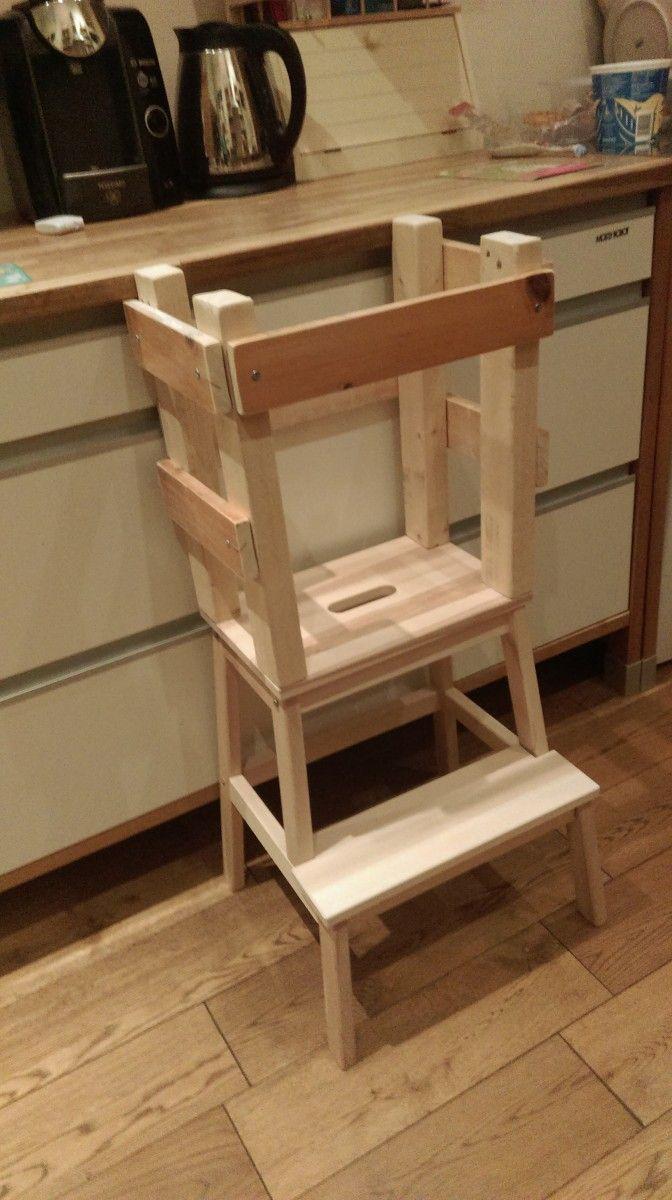 ikea hack: Matilda's activity tower