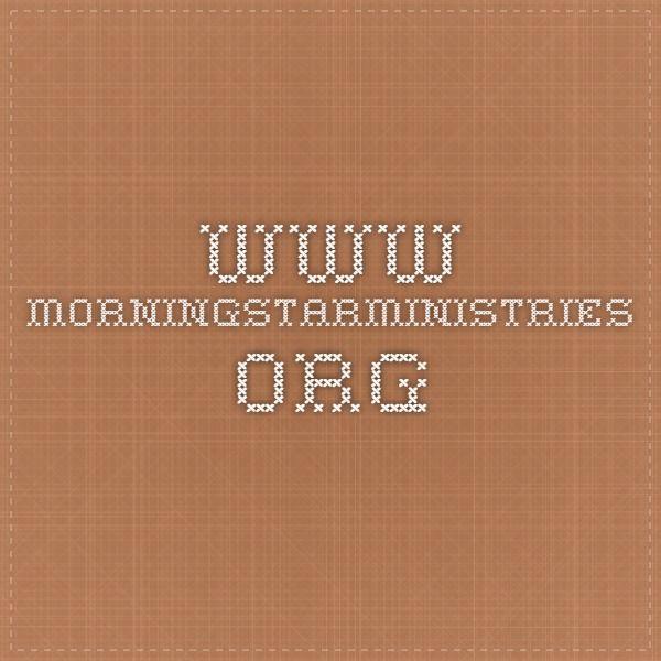 www.morningstarministries.org