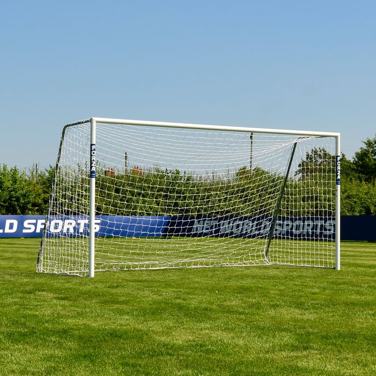 FORZA Alu60 Soccer Goal (Choose Your Size 6ft x 4ft --> 24ft x 8ft) – Super Strong Aluminum Soccer Goal Perfect For Mini Soccer [Net World Sports] (12ft x 6ft). SUPER STRONG: Mini soccer goal posts made from reinforced 60mm (2.4 inch) aluminum - can stand up to the strongest shots again and again. 100% WEATHERPROOF: Zinc-plated steel side frame plus galvanised steel detachable backbars - whatever the weather, these goals are built to last!. AWESOME RANGE OF SIZES: Single aluminum soccer…
