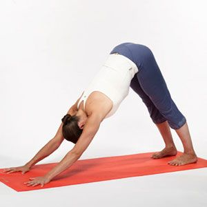 5 Energizing Yoga Positions to Do Before You Go Out Tonight: Flash: Self.com