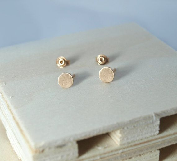 Check out this item in my Etsy shop https://www.etsy.com/listing/498441078/stud-earringsround-earringssterling