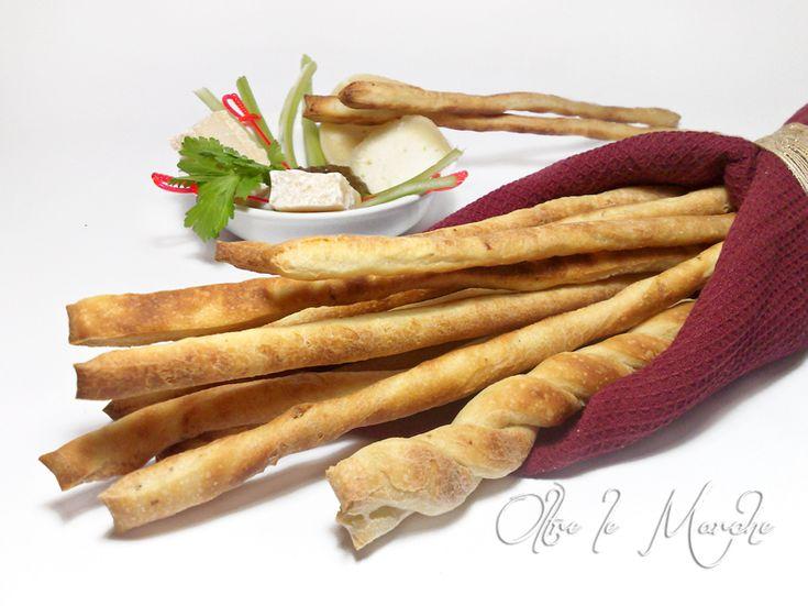 Grissini al gorgonzola, ricette facili | Oltre le Marche