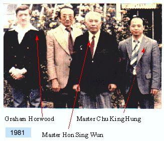 Master Chu King Hung , Master Hon Sing Wun, Graham Horwood