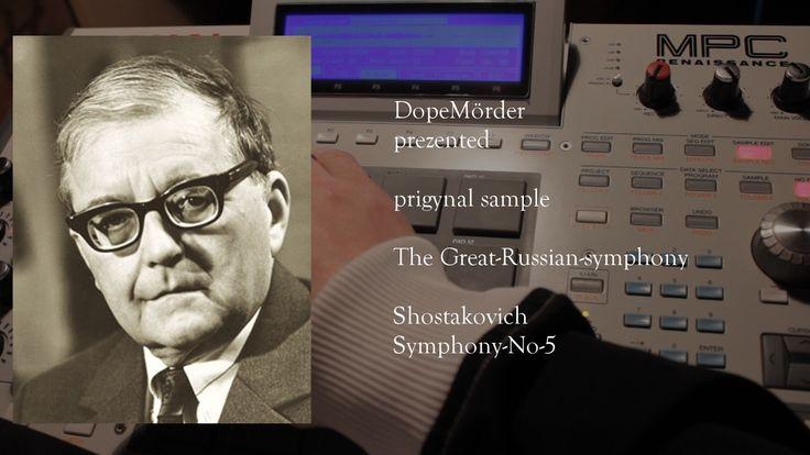 Great Russian symphony sample on akai mpc.prod DopeMörder
