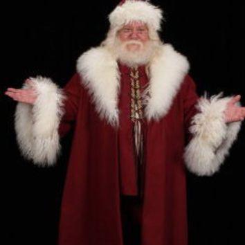 victorian saint nick santa claus hat coat vest by magicwardrobe - Santa Claus Coat