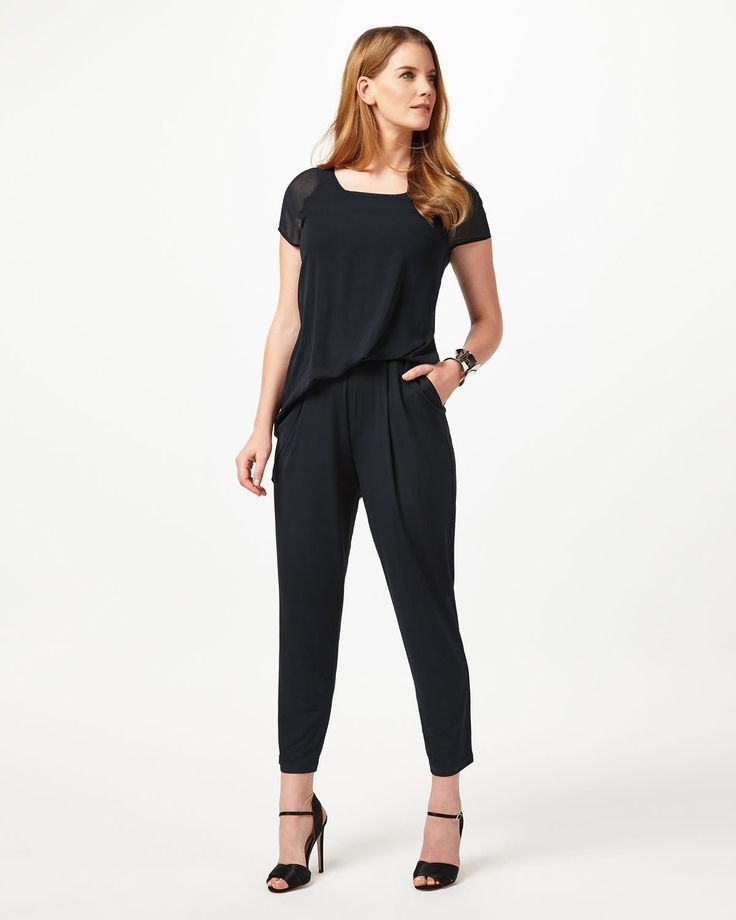 25+ best ideas about Jumpsuit with sleeves on Pinterest ...