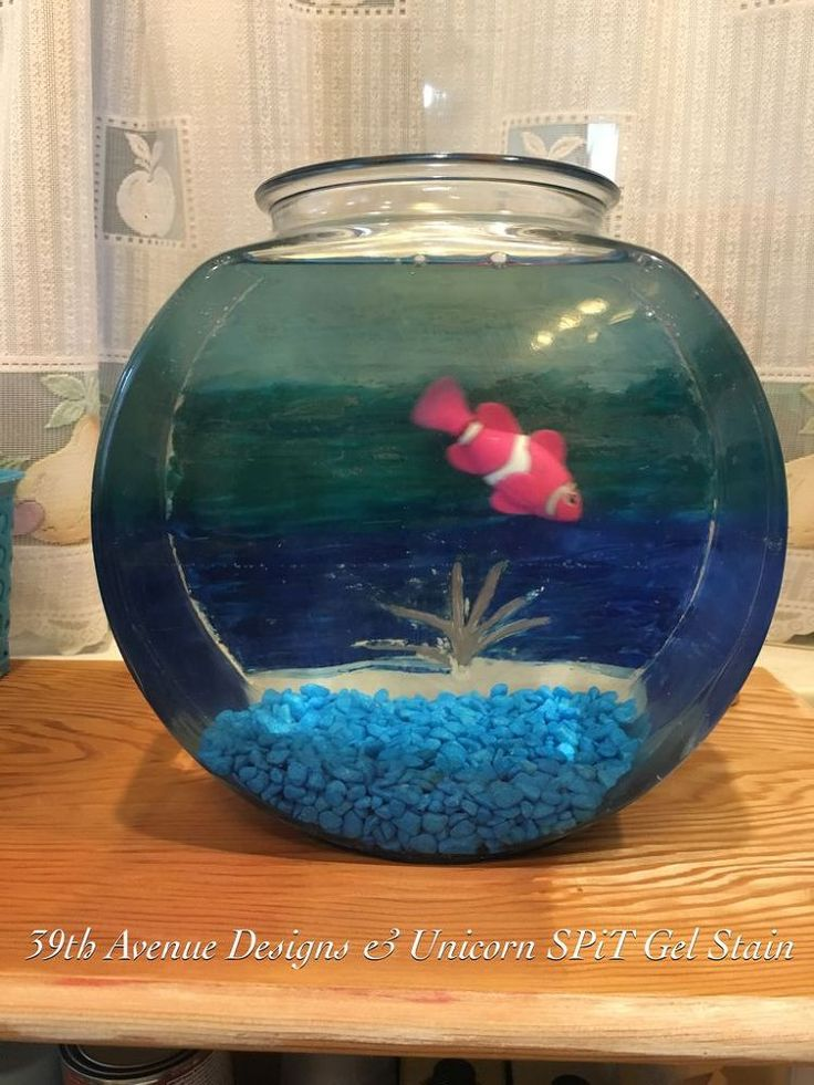549 best images about diy craft projects on pinterest for Glass fish bowl
