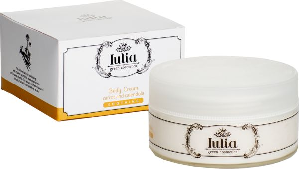 """Emollient body cream Emollient and nutritious for all kind of skins Rich of hydrating extracts and ultra nutritious natural oil, this body emulsion regenerates and protects dermis into depth. It restructures its protective hydrolipidic layer and gives an immediate relief, opposing the annoying """"stretching skin effect"""". E commerce: http://iuliagreencosmetics.com/en/product/emollient-body-cream"""