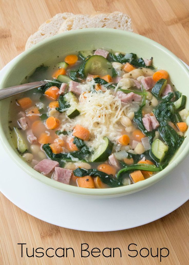 30-Minute Tuscan Bean Soup Recipe on 5DollarDinners.com