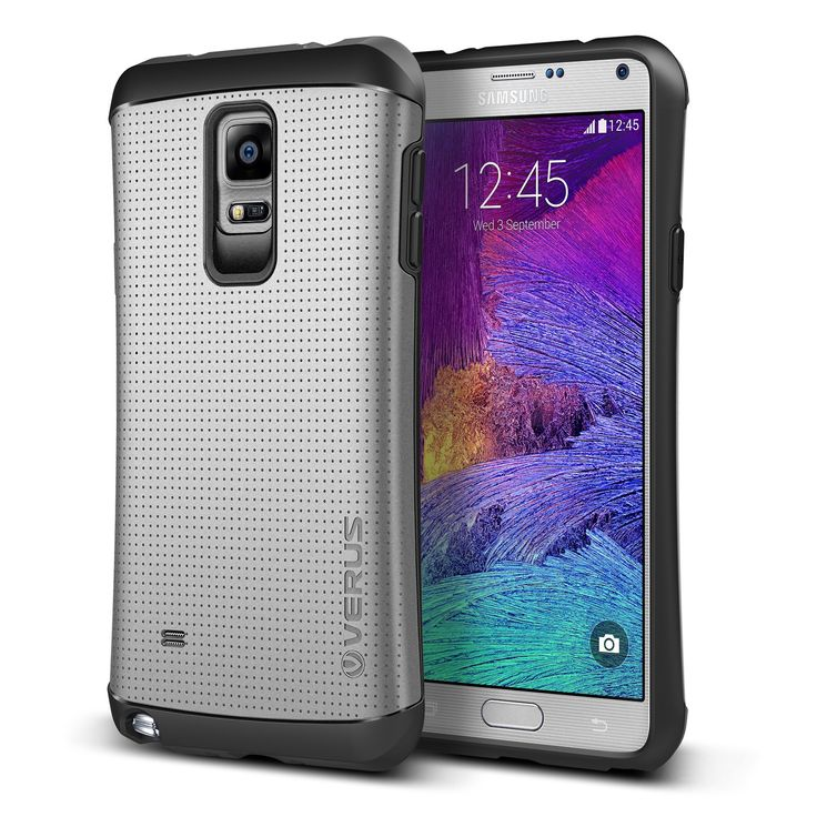 Verus Samsung Galaxy Note 4 Case Thor Series - Satin Silver