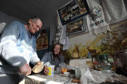 Chernobyl People Today | CHERNOBYL: Ganna Konstantynova, 77, lives just 18km (11 miles) from ...