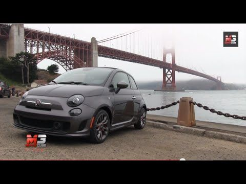DISCOVERY SAN FRANCISCO 2014 - FIAT 500C ABARTH CABRIO GQ EDITION ON THE STREETS OF SAN FRANCISCO