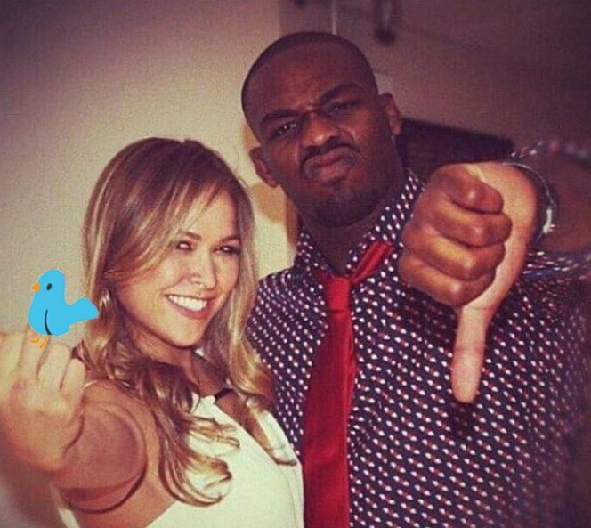 Jon Jones offered words of support for Ronda Rousey after her second straight loss.  Ronda Rousey's future as a mixed martial artist is uncertain after losing her second consecutive fight, this time to Amanda Nunes, in a mere 48 seconds at UFC 207.  Since the loss, the critics have come out in droves