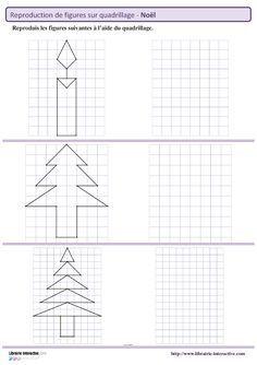 Des Figures Geometriques Sur Le Theme De Noel A Reproduire Sur