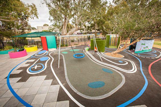 Suneden Sensory Playspace Mitchell Park Australia Wax