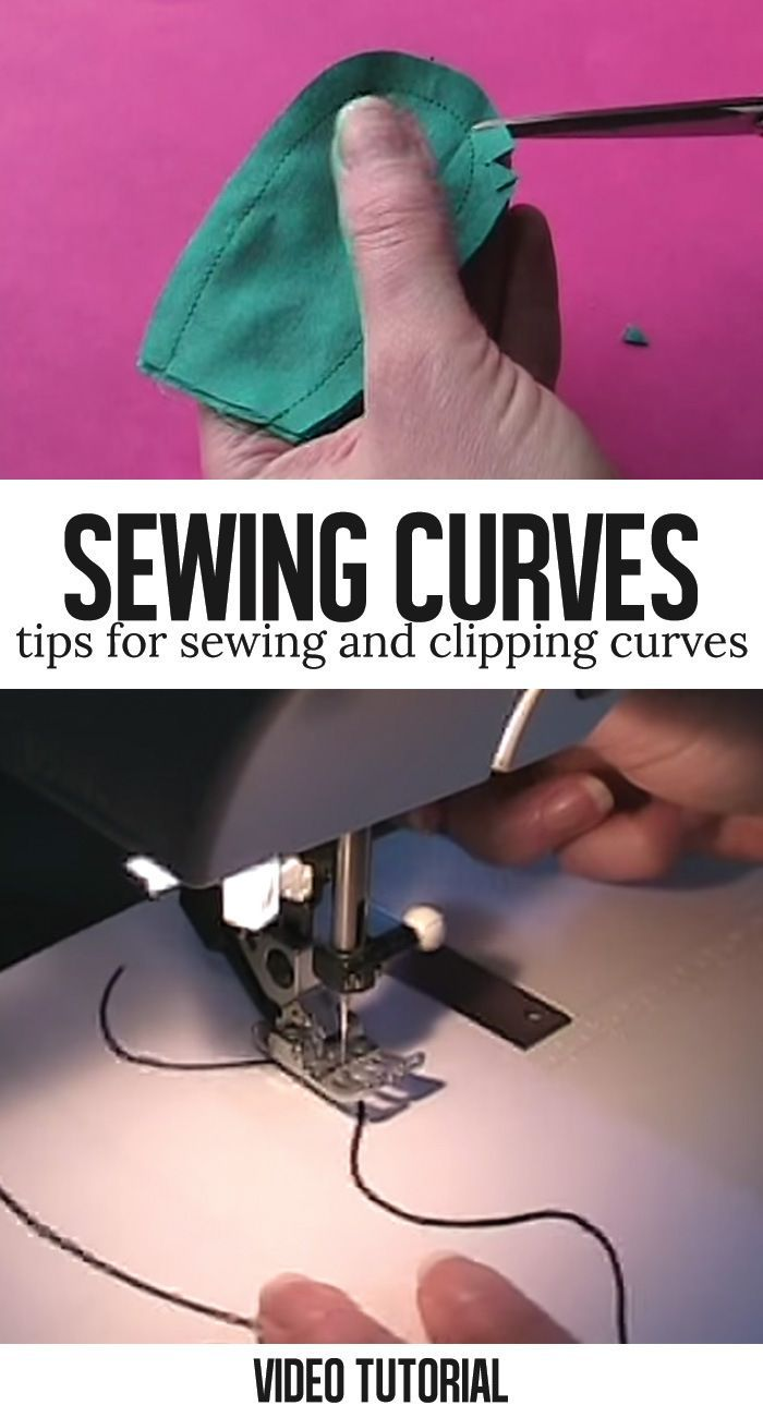 Learn how to sew curves with this fantastic video tutorial