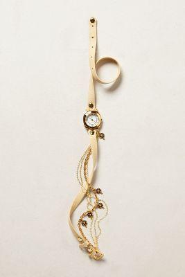 La Mer Ivory Charm Wrap Watch