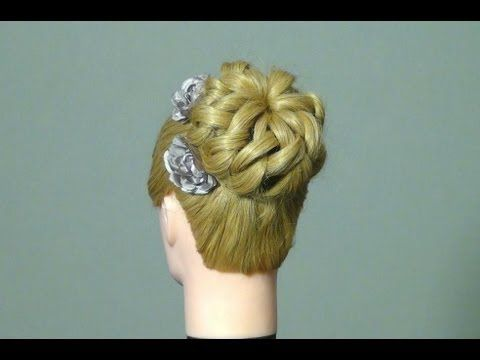 I'm so surprised that this hairstyle is really easy to do!