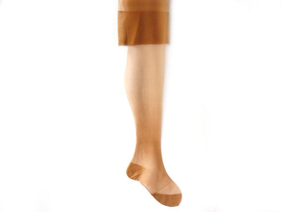 Vintage silk stocking never used,  Nude stockings, New Old Stock Seamed Nylon Stockings, Nude Nylon Hanes, retro stockings  Vintage stockings are made of silk!!! Stockings ...