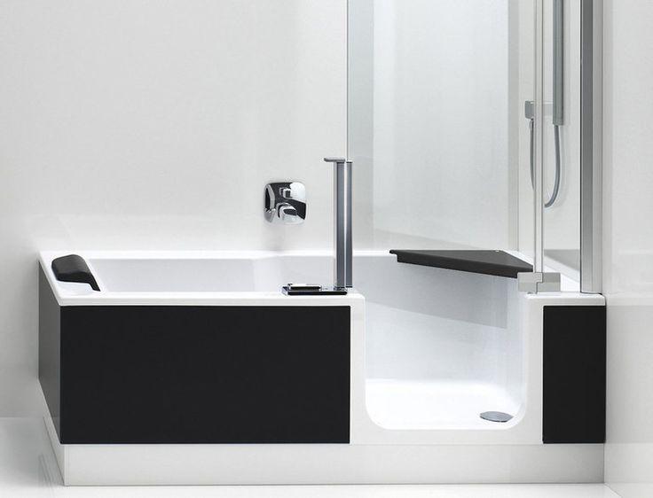 So Bequem Haben Sie Eine Badewanne Noch Nie Erlebt: Sie öffnen Die Tür Der  TWINLINE