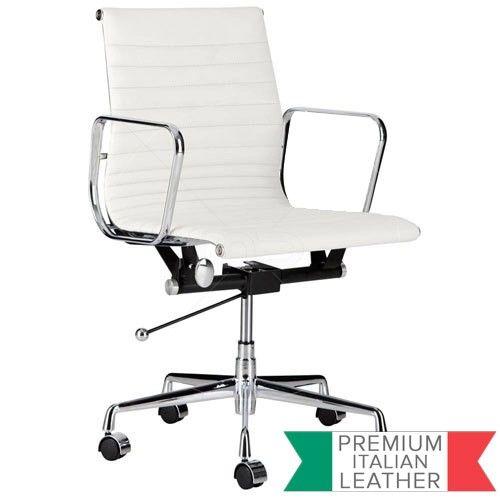 Management Office Chair - Eames Reproduction - White - Premium