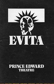Evita (musical) - Wikipedia, the free encyclopedia  1978 Webber musical ... The beginning of the bombastic Musicals that followed ... Most of them by Andrew Webber