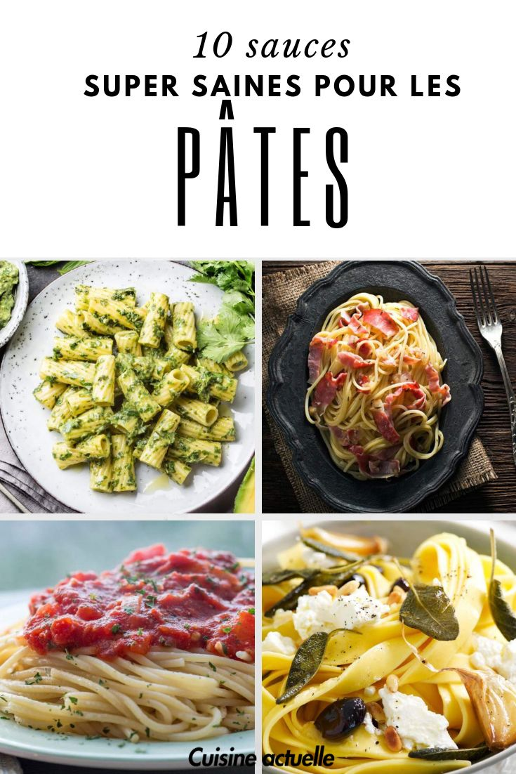 10 super healthy sauces for your pasta