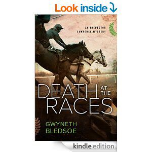 Death at the Races, my second novel in the Inspector Lawrence mystery series, now available on Amazon. http://www.amazon.com/gp/product/B00SNGB6GA?ie=UTF8&at=aw-iphone-pc-us-20&force-full-site=1&ref_=aw_bottom_links