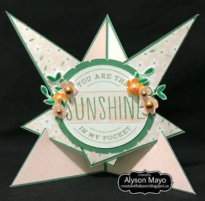 Sunshine in My Pocket Triangular card