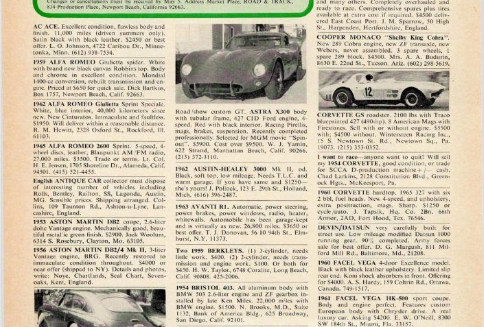 R T Marketplace Finds May 1967 Where Are They Now Classic Cars Online Jeep Cj5 Classic Cars