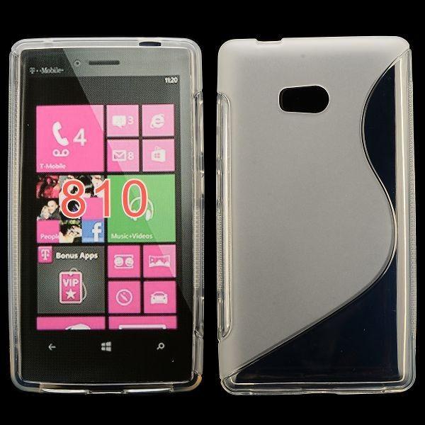 S-Line Transparent (Grå) Nokia Lumia 810 Cover
