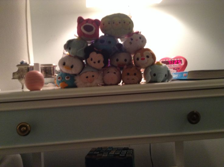 I love tsum tsums
