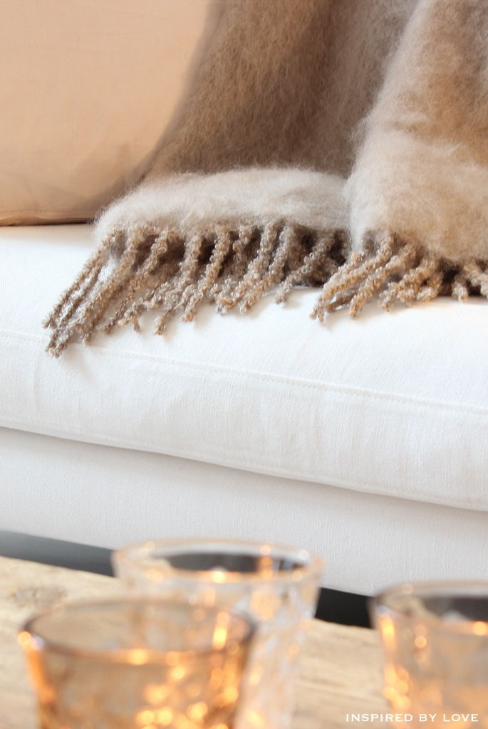 Balmuir mohair White, beige, gold, glass, soft, wood... Everything