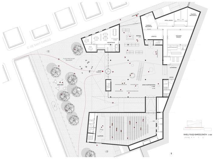 HIC Arquitectura » Ferran Massip > Centro cultural en la Barceloneta