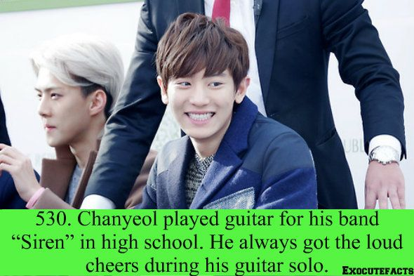 EXO Facts #530 ♥  He looks so peng and cute