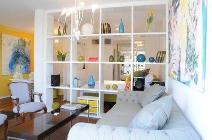 Ideas para dividir espacios en apartamentos tipo estudio for Cocinas pequenas para apartamentos tipo estudio