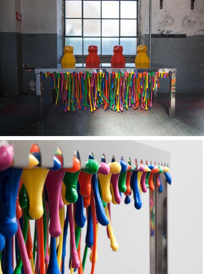 Zerodisegno at #Fuorisalone 2013 #colour #pop #interiors #milandesignweek #mdw13