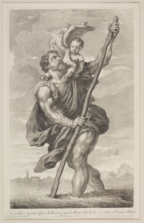 st christopher tattoo images - Google Search