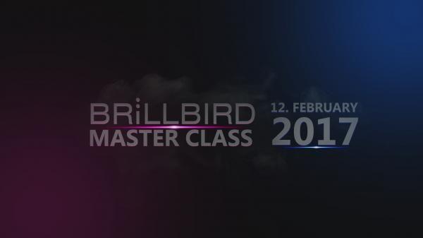 BRILLBIRD MASTER CLASS - 2017. február 12.