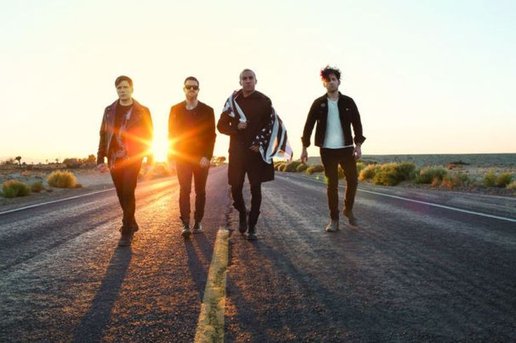 Fall Out Boy machen Halt in Düsseldorf: Am 15.10.15 in der Mitsubishi Electric Halle.