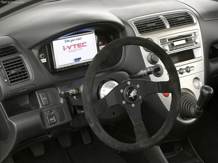 Honda Mugen Civic Si Interior Honda Sport Cars Pinterest Honda And Interiors