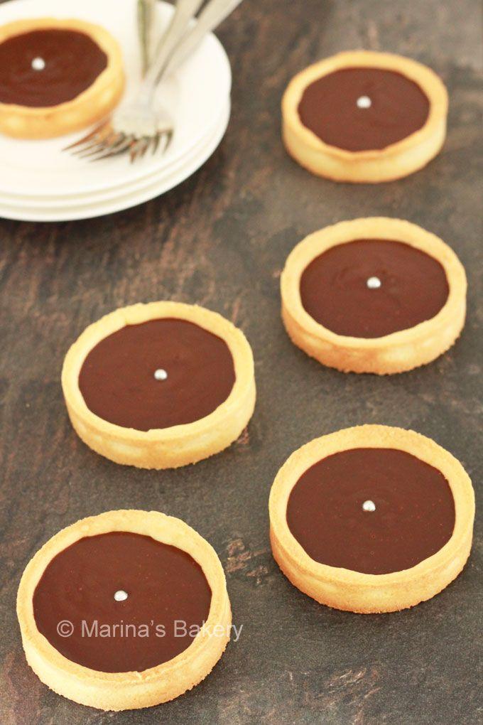 Kleine Chocoladetaartjes